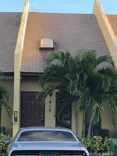 Fort Lauderdale Condo/Townhouse For Sale: 410 SE 11th Ct