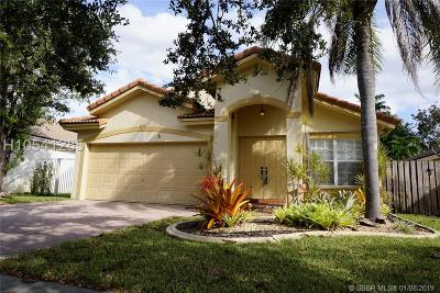 Pembroke Pines Single Family Home For Sale: 301 SW 203rd Ave