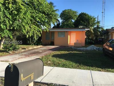 Miramar Single Family Home For Sale: 6040 SW 38th St