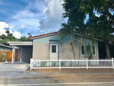 Fort Lauderdale Single Family Home For Sale: 2804 N Ocean Blvd