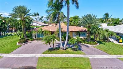 Dania Beach Single Family Home For Sale: 313 SE 6th St