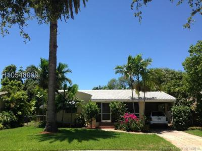 Hollywood Single Family Home For Sale: 1522 Plunkett
