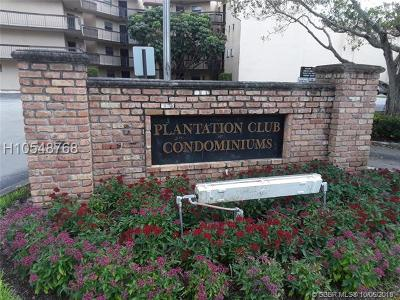 Plantation Condo/Townhouse Active With Contract