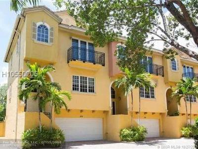 Fort Lauderdale FL Condo/Townhouse For Sale: $479,900