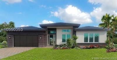 Cooper City Single Family Home For Sale: 10430 Ranchette Dr