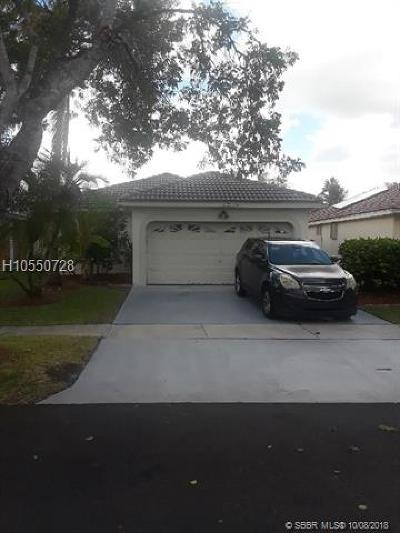Pembroke Pines Single Family Home Backup Contract-Call LA: 18323 NW 7th St