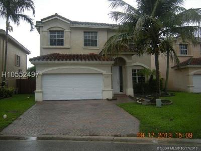 Pembroke Pines Single Family Home For Sale: 9860 NW 20th Ct
