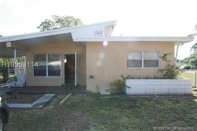 Fort Lauderdale FL Single Family Home For Sale: $189,000