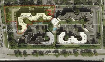 Plantation Condo/Townhouse Active With Contract: 6855 W Broward Blvd #112