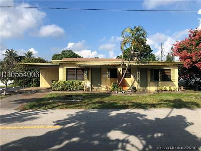 Fort Lauderdale FL Multi Family Home For Sale: $275,000