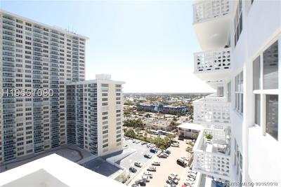 Fort Lauderdale Condo/Townhouse For Sale: 4010 Galt Ocean Dr #1506