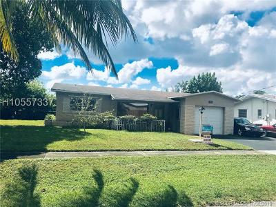 Hallandale Single Family Home For Sale: 1051 SW 5th St
