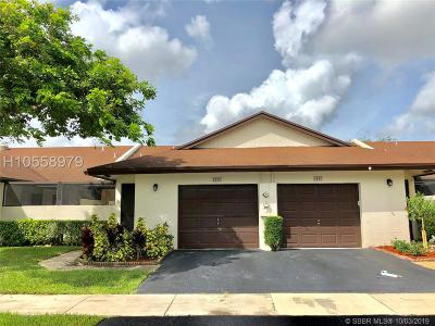 Tamarac Single Family Home For Sale: 6163 NW 91st Ave #93-12