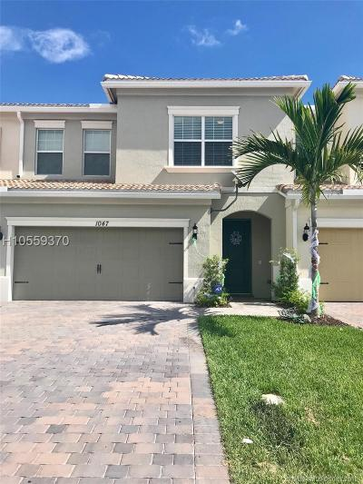 Hollywood Condo/Townhouse For Sale: 1047 Banyan Dr