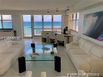 Hallandale Condo/Townhouse Active With Contract: 1912 S Ocean Drive #8A