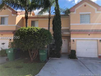 Miramar Condo/Townhouse For Sale: 2267 SW 87th Ter