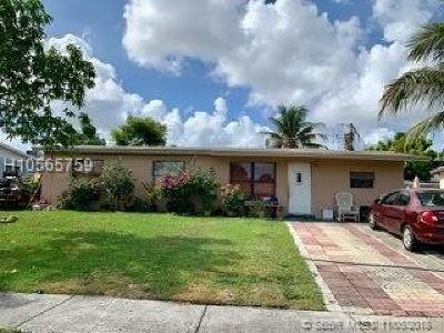 Davie Single Family Home Active With Contract: 3661 SW 58th Ter