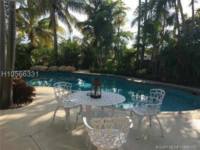Hollywood Single Family Home For Sale: 422 N Rainbow Dr