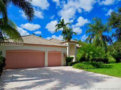 Davie Single Family Home Active With Contract: 9693 Ridgecrest Ct