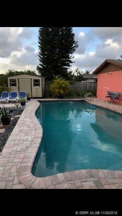 Sunrise Single Family Home For Sale: 2251 NW 60th Ter