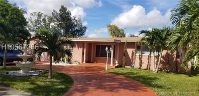 North Miami Single Family Home For Sale: 415 NE 142nd