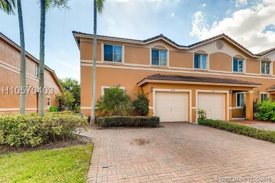 Sunrise Condo/Townhouse For Sale: 9950 NW 19th Pl #9950