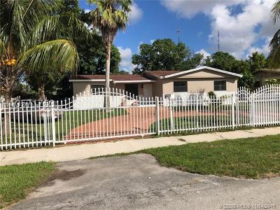 Single Family Home For Sale: 845 NW 200 Ter