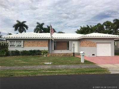Dania Beach Single Family Home For Sale: 112 SE 2nd Ave