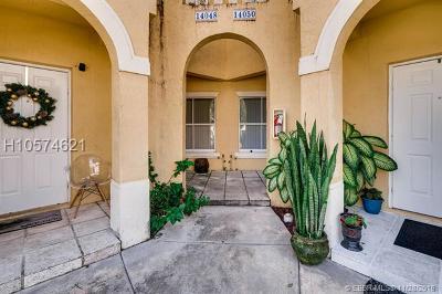Miramar Condo/Townhouse For Sale: 14048 SW 49th St #17