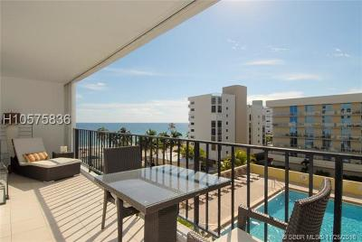 Hollywood Condo/Townhouse For Sale: 322 Buchanan St #602