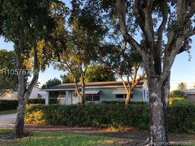 Hollywood Single Family Home For Sale: 7111 Custer St