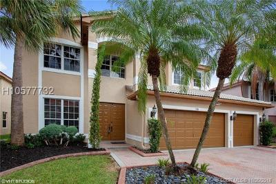 Miramar Single Family Home Active With Contract: 3281 SW 173rd Ter