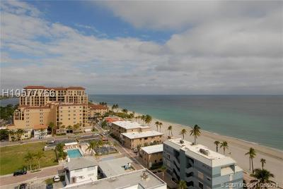Hollywood Condo/Townhouse For Sale: 3111 N Ocean Dr #1205