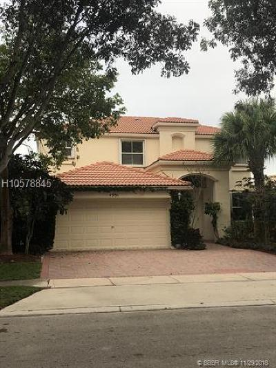 Miramar Single Family Home For Sale: 4991 SW 165th Ave