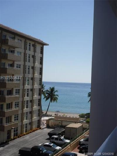 Rental For Rent: 3140 S Ocean Dr #409