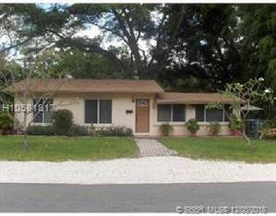 Fort Lauderdale FL Single Family Home For Sale: $220,000