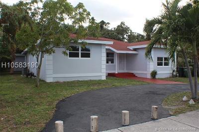 North Miami Single Family Home For Sale: 1350 NE 129th St
