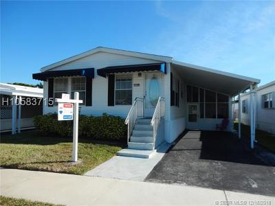 Dania Beach Single Family Home For Sale: 5200 SW 24th Ave