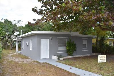 North Miami Single Family Home For Sale: 1195 NW 120 St