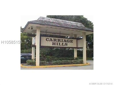 Hollywood FL Condo/Townhouse For Sale: $73,900