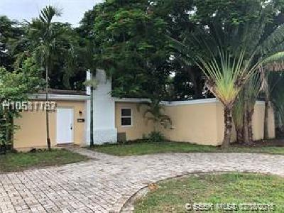 Fort Lauderdale Single Family Home For Sale: 1506 Davie Blvd
