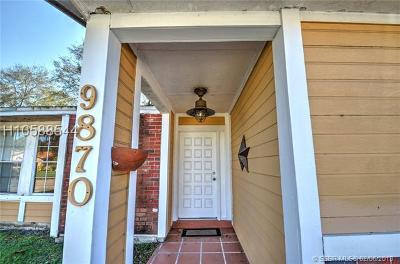 Miramar Condo/Townhouse Active With Contract: 9870 W Heather Ln #9870