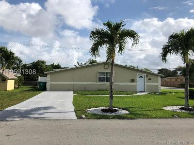 Miramar Single Family Home For Sale: 2091 SW Bahama Dr