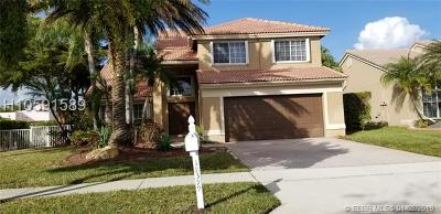 Pembroke Pines Single Family Home Active Under Contract: 19399 NW 14th St