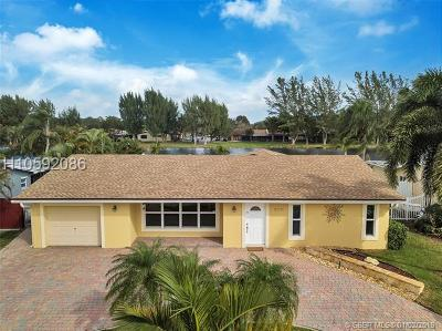 Pembroke Pines Single Family Home Active With Contract: 2111 NW 104th Ave
