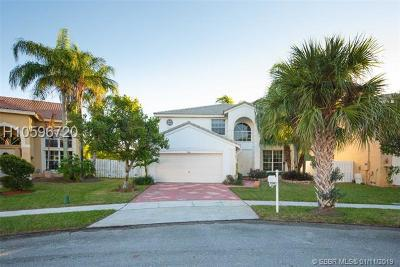 Miramar Single Family Home Active With Contract: 2846 SW 177th Ter