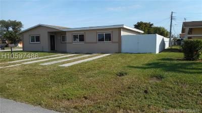 Fort Lauderdale FL Single Family Home For Sale: $288,000
