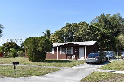 Fort Lauderdale Single Family Home For Sale: 1719 NW 13th Ave