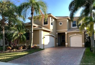 Miramar Single Family Home Active Under Contract: 15392 SW 18th St