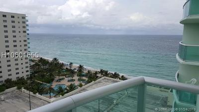 Hollywood Condo/Townhouse For Sale: 3901 S Ocean Dr #12B